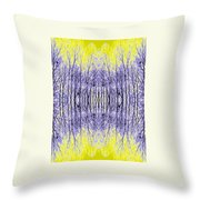 Tree For The Yellow Forest Throw Pillow