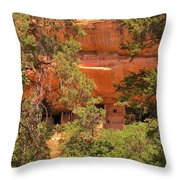 Tree Framing Throw Pillow