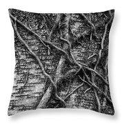 Tree Hugging Throw Pillow