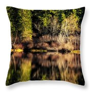 Tree Impressions Throw Pillow