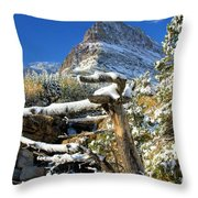 Tree In The Way Throw Pillow