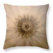 Tree Mandala 1 Throw Pillow