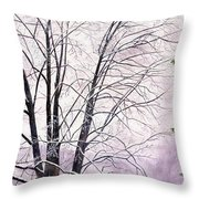 Tree Memories Throw Pillow