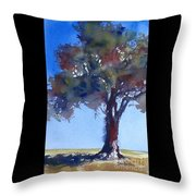 Tree Of Color Throw Pillow