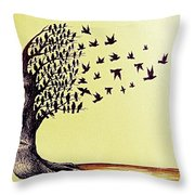 Tree Of Dreams Throw Pillow