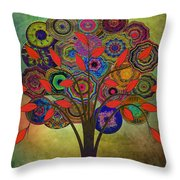 Tree Of Life 2. Version Throw Pillow