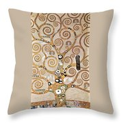 Tree Of Life - Lebensbaum Throw Pillow
