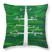 Tree Of Life - Vigor And Vitality Throw Pillow