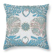 Tree Of Life Waters Edge Throw Pillow