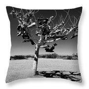 Tree Of Lost Soles 2 Throw Pillow