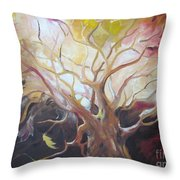 Tree Of Thought Throw Pillow