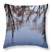 Tree Reflections I Throw Pillow