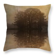 Tree Reflections II Throw Pillow
