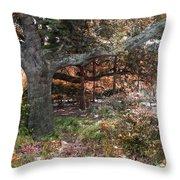 Tree Series 46 Throw Pillow