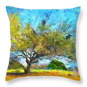 Tree Series 64 Throw Pillow