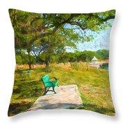 Tree Series 65 Throw Pillow