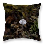 Tree 'shroom Throw Pillow
