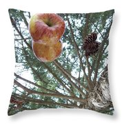 Tree Spiral Throw Pillow