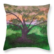 Tree Strong Throw Pillow