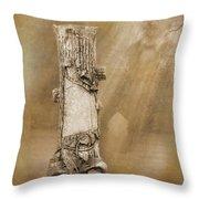 Tree Stump 2 The Forgotten Series 15 Throw Pillow