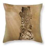 Tree Stump The Forgotten Series 05 Throw Pillow
