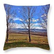 Tree View Throw Pillow