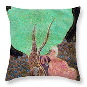 Tree With Magic Throw Pillow