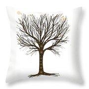 Treedom Throw Pillow
