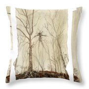 Treeman Throw Pillow