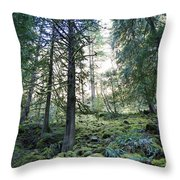 Treequility Throw Pillow