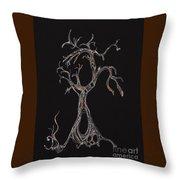 Trees 4 Throw Pillow