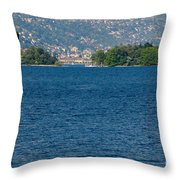 Trees And Islands Throw Pillow
