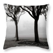 Trees In The Midst No. 06 Throw Pillow