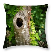 Tree's Mandala Throw Pillow