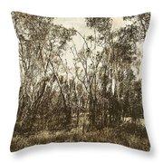 Trees Of Ashburn Throw Pillow
