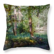 Trees Of The Rainforest Throw Pillow