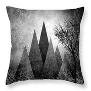 Trees V I I I Throw Pillow