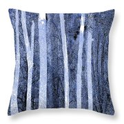 Trees Vertical Throw Pillow