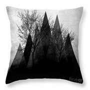 Trees Vi  Throw Pillow