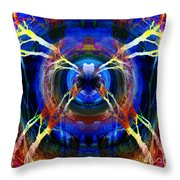 Treescape Abstract II Throw Pillow