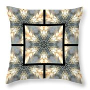 Treescape Feather Page Throw Pillow