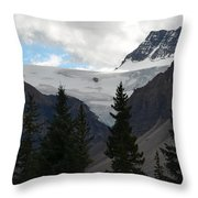 Treescape In Canada Throw Pillow