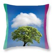 Treetypch Throw Pillow