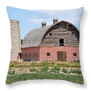 Tremonton Barn Throw Pillow