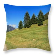 Trentino - Val Di Sole Throw Pillow