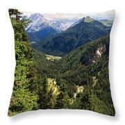 Trentino - Val Duron Throw Pillow