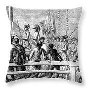 Trenton: Prisoners, 1776 Throw Pillow