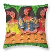 Tres Marias Throw Pillow