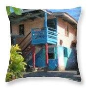 Trevas House Throw Pillow