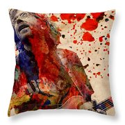 Trey Anastasio - Phish  Throw Pillow